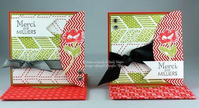 Carte 3x3 Hello Lovely