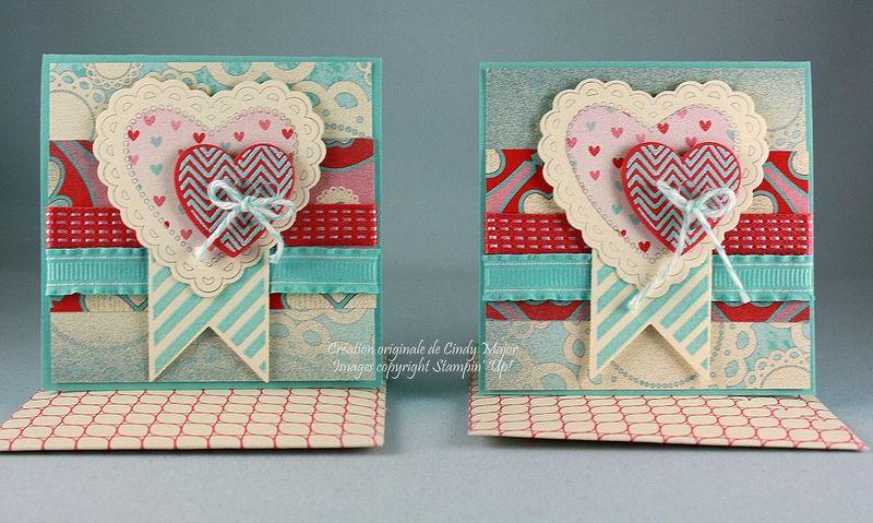 Carte3x3 Hearts a Flutter