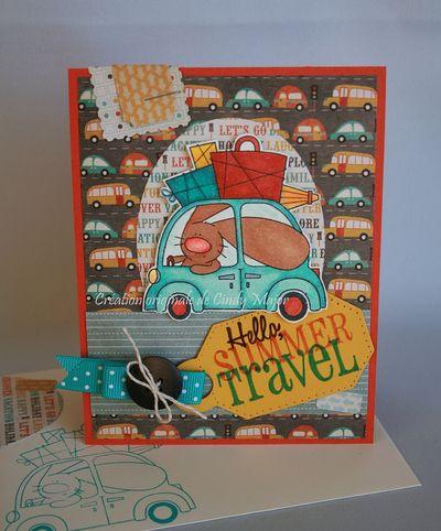 Carte Hello Summer Travel