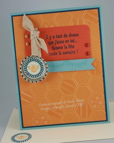 Cindy Major Collage Curios Honeycomb
