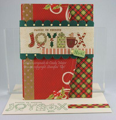 Card Merry Monday 65 Cindy Major