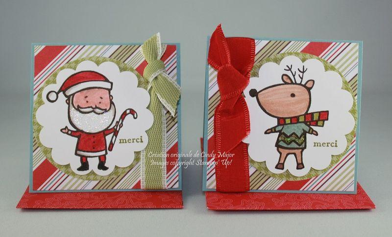 Carte 3x3 Color Me Christmas