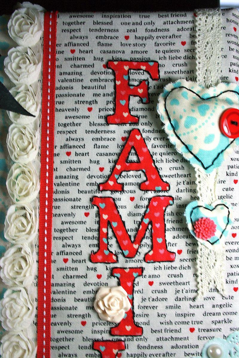 Cadre Famille_Cindy Major_close up 1