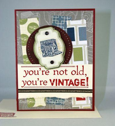 Carte Youre vintage