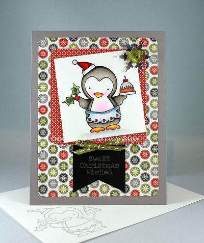 Homemade Cheer Tis the Season Sweet Christmas Wishes Cindy Major