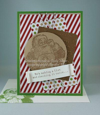 Santa's List Season of Style Cindy Major