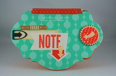 Mini carnet de notes