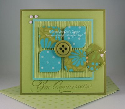 Carte Fleur carres de papier_Cindy Major