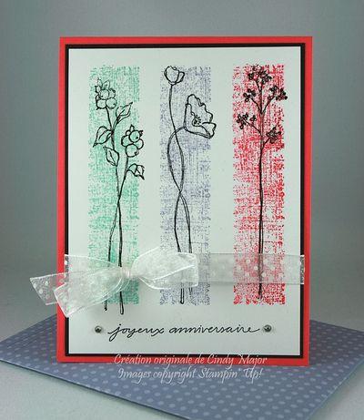 Carte Fleurs anniversaire_Cindy Major