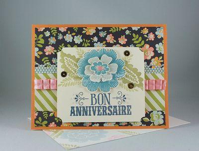 Carte Fleur superposee Murmure marin_Bon anniversaire_Cindy Major