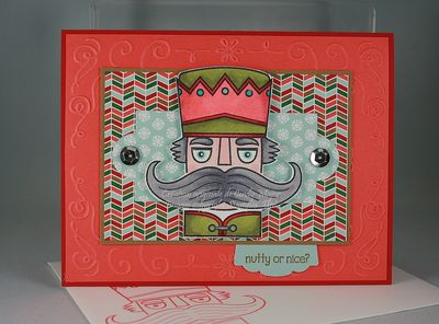 Santa Stache_Nordic Noel_Filligree Frame_Cindy Major