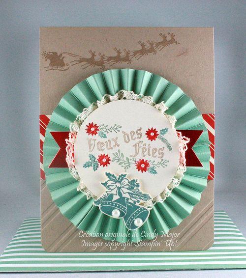 Christmas Rosette_Cindy Major