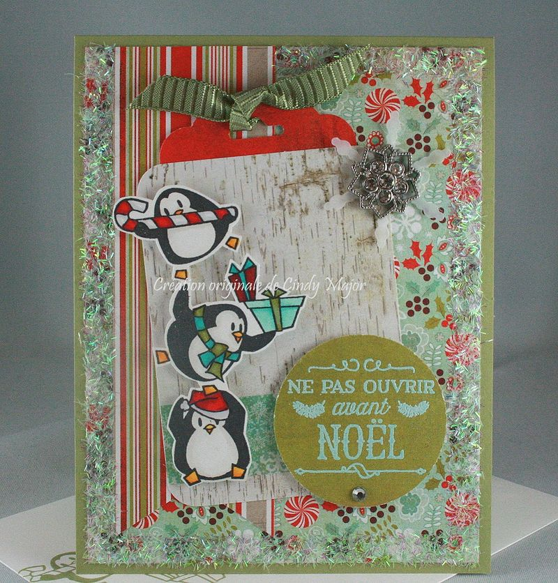 Penguins and Gifts_Hourra pour Noel_Cindy Major