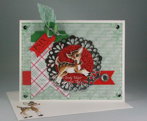 Oh What Fun Tag Project Kit_Home for Christmas DSP_Cindy Major