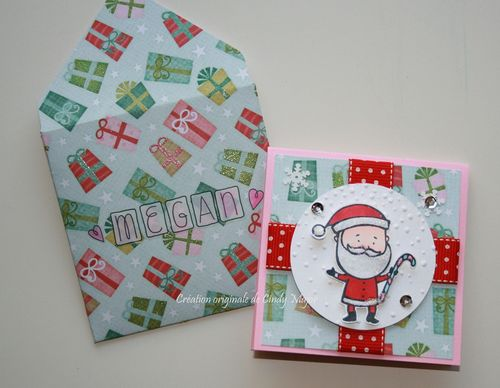 Santa Card for Megan