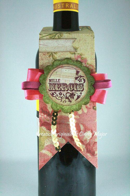 Flowery Wine Bottle Tag_Cindy Major