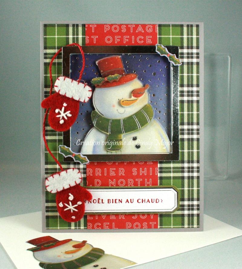 Snowman Paper Tole_Cozy Chtistmas_Cindy Major