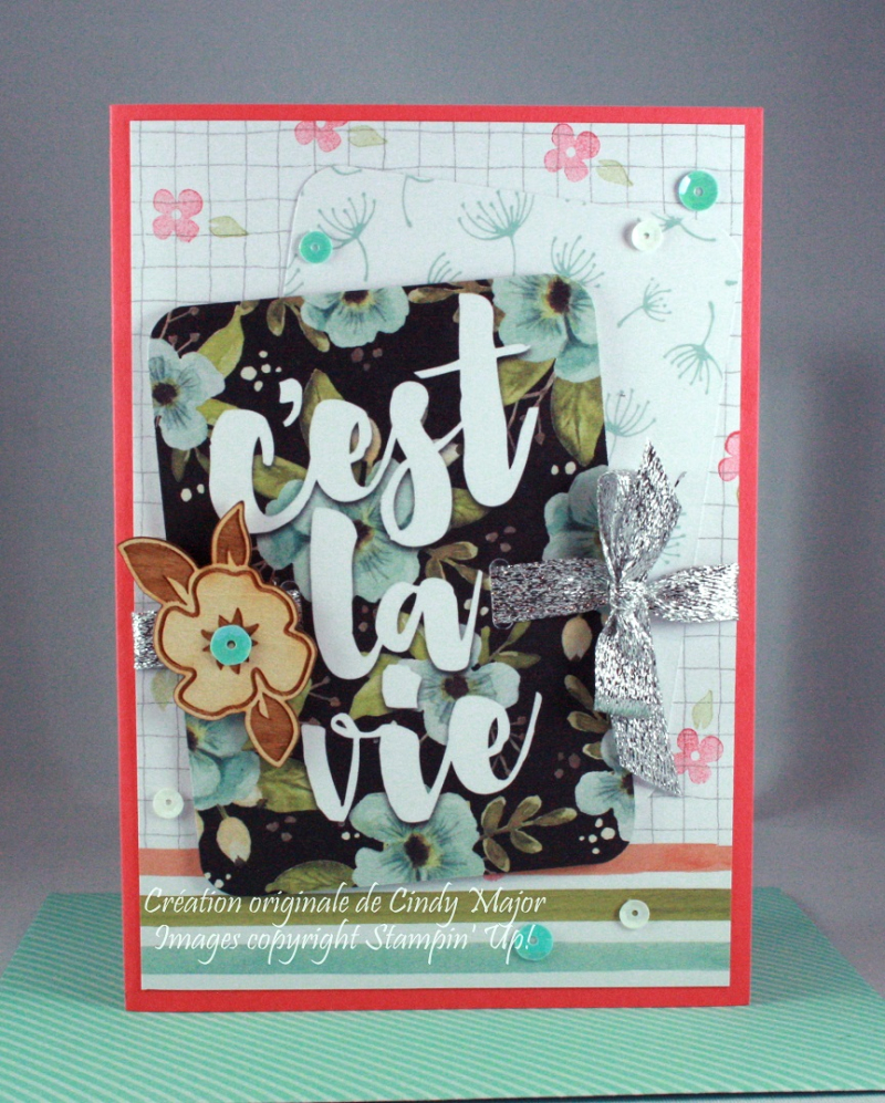 Hello Lovely Project Life card_Cindy Major