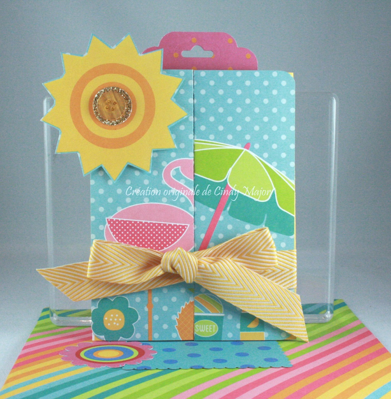 Z Fold Card_Summer Poolside_Cindy Major