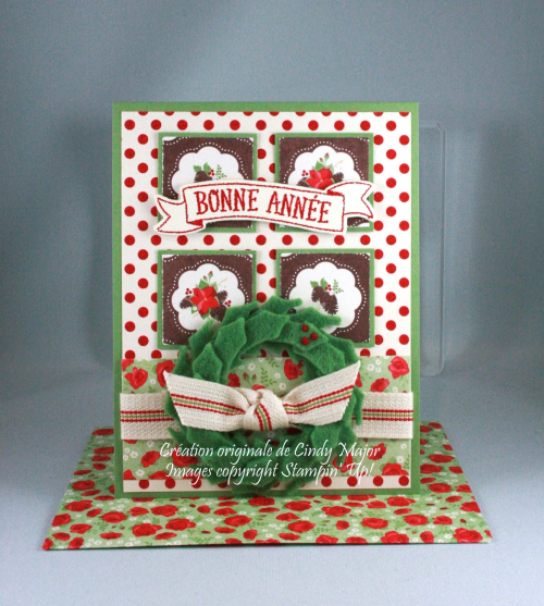 Stitched with Cheer_Berry Bouquet DSP_Cindy Major
