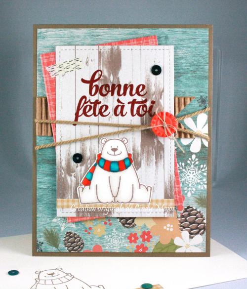 Polar Bear Pals_Winter Wonderland Simple Stories_Cindy Major