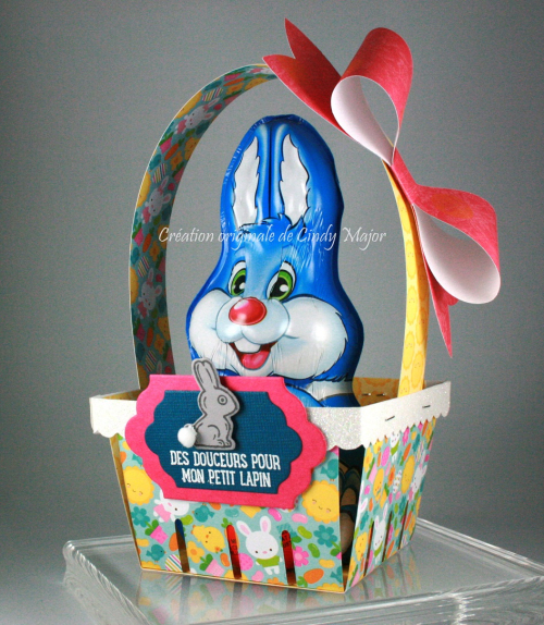 Easter Basket with Chocolate Bunny_Cindy Major