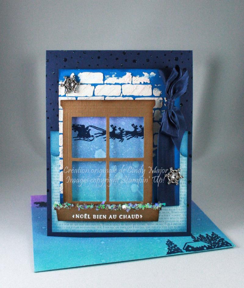 Cozy Christmas_Snowfall Background_Distress Oxide Inks_Cindy Major