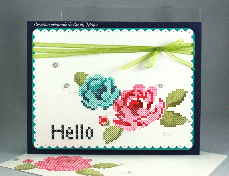 Stitched Roses_Dotted Scallop Rectangles_Cindy Major