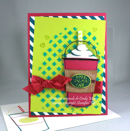 Coffee Cafe_Embossing Paste_Cindy Major