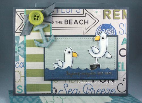 Seaside Seagulls_Seaglass_Cindy Major