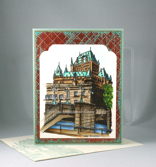 Chateau Frontenac_Verdigris_Cindy Major