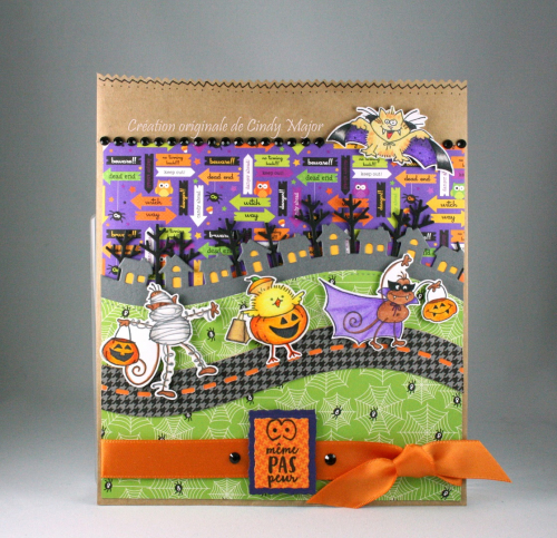 Stampendous Trick or Treaters Bag_Cindy Major
