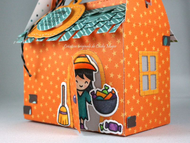 Scalloped Treat Box_Home Sweet Home_Costume Party_Cindy Major_behind door
