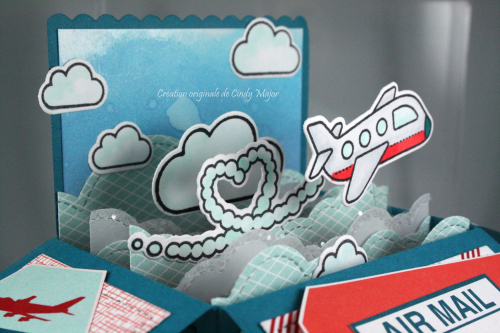 Plane and Simple_Scalloped Card Box Pop-Up_Sent with Love DSP_Cindy Major_close up
