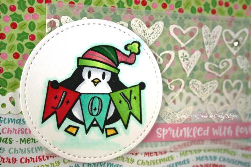 Penguin Joy_Milk and Cookies_Cindy Major_close up