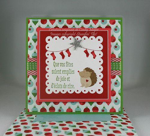 Christmas Hedgehog_Snow Festival_Cindy Major