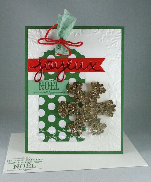 Carte Hourra pour Noel kit de projet_Cindy Major