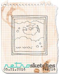 Retro Sketch 216