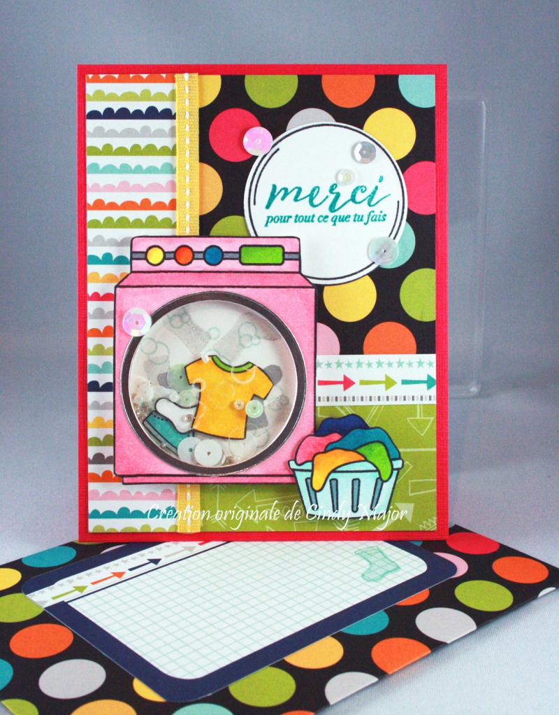 Loads of Fun_Feather Together_Shaker Card_Cindy Major