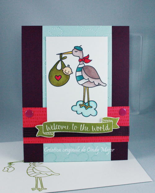 Special Delivery_Cloudy Day Embossing Folder_Cindy Major