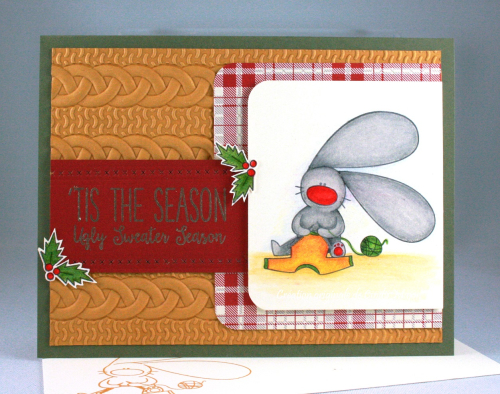 Bunny Christmas_Festival of Prints DSP_Cable Knit EF_Cindy Major