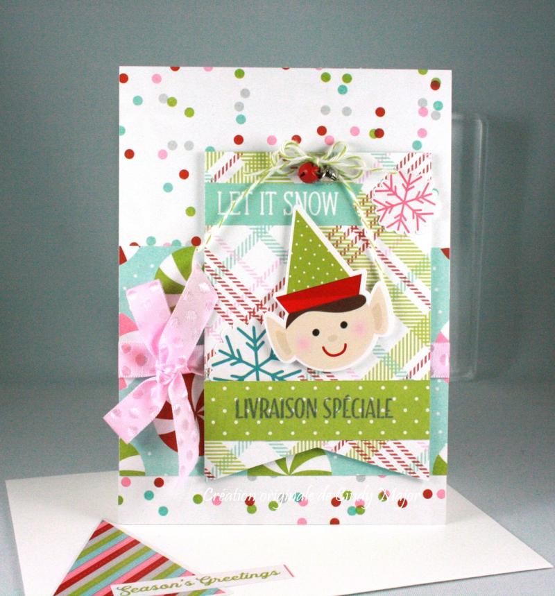 Christmas Elf Special Delivery_Cindy Major