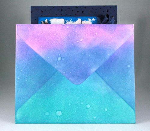 Cozy Christmas_Snowfall Background_Distress Oxide Inks_Cindy Major_envelope 2