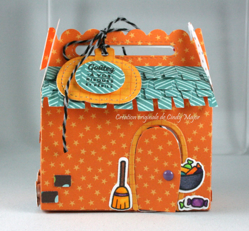 Scalloped Treat Box_Home Sweet Home_Costume Party_Cindy Major_front