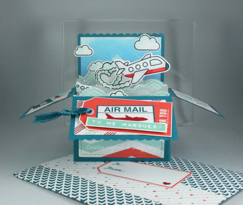 Plane and Simple_Scalloped Card Box Pop-Up_Sent with Love DSP_Cindy Major