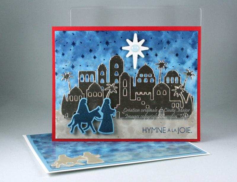 Night in Bethlehem_polished stone background_Cindy Major
