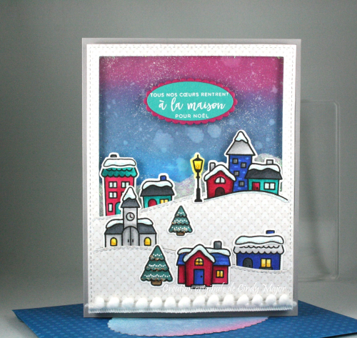 Winter Village_Stitched Hillside Backdrop Portrait_Knit Picki_Cindy Major