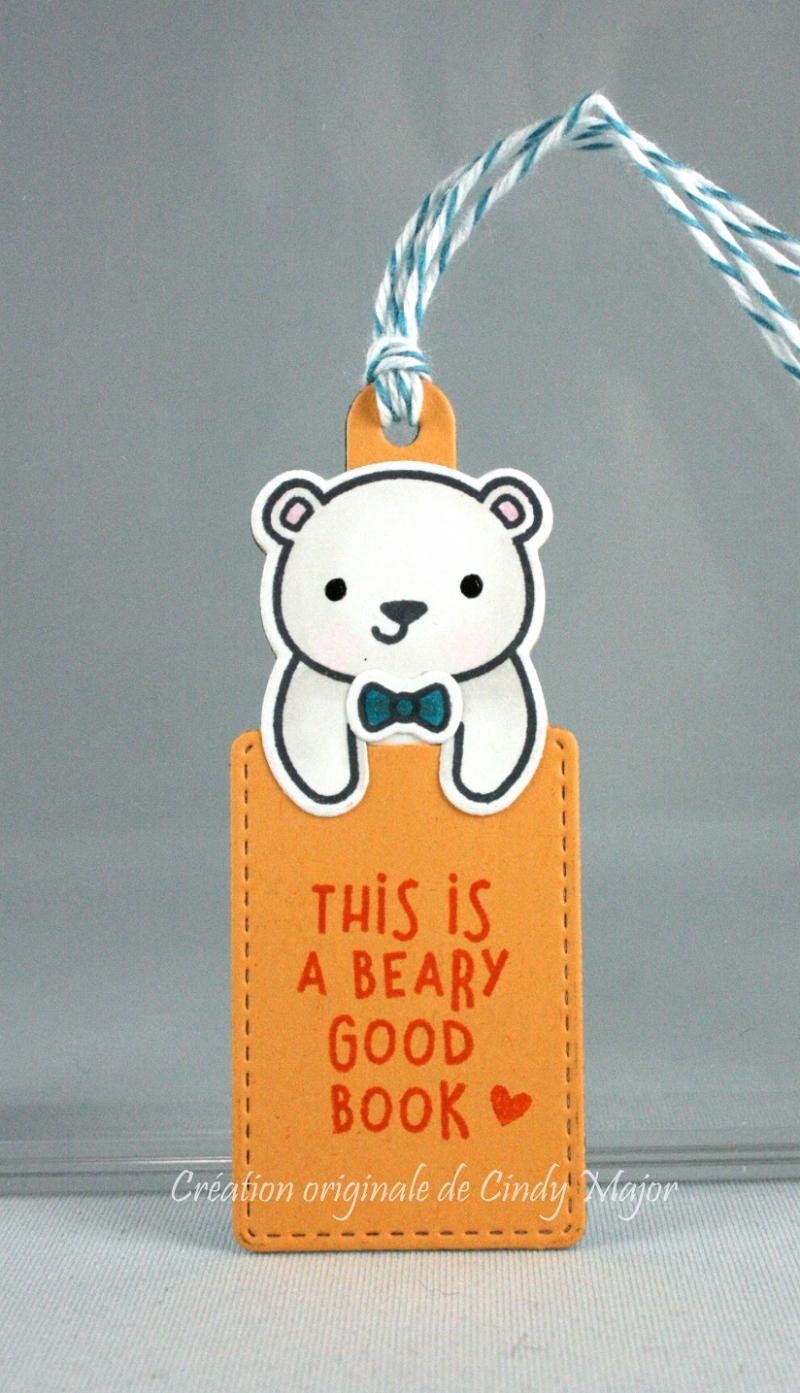 For You Deer_Polar Bear Bookmark_front
