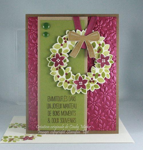 Wondrous Wreath_Poinsettia Embossing Folder_Cindy Major
