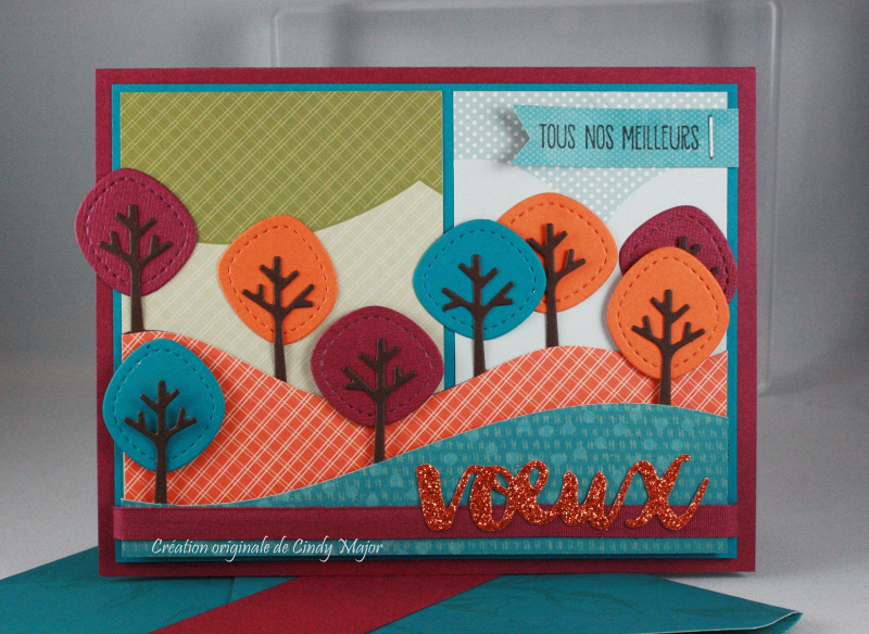 Stitched Tree Borders Lawn Fawn_Sweet Pea DSP_Sunshine Sayings_Cindy Major